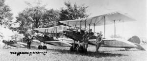 Lineup of three 1922 Waco Model 5